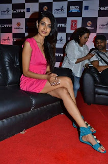 WWW..BLOGSPOT Bollywood Tollywood Indian Actress Sarah Jane Dias  at Game Film Event Picture Stills Gallery 0011