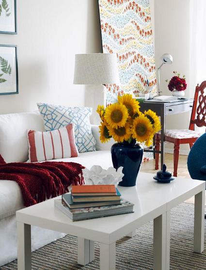 Mesas de centro for Decorar mesa de salon