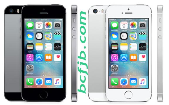 Iphone Five s warna Abu-abu dan Perak