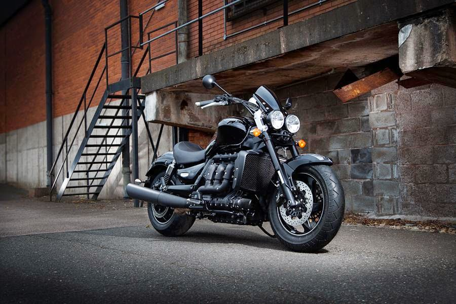 Triumph Rocket X Limited Edition (2015) Front Side
