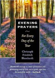Evening Prayers by Christoph Friedrich Blumhardt