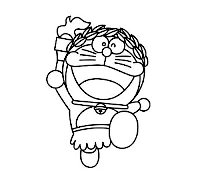 Doraemon Cartoon Character Coloring