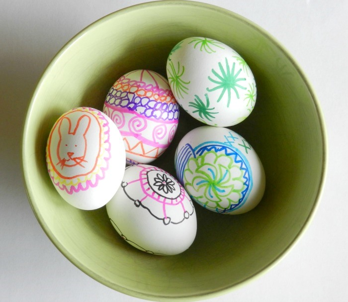 Hand Drawn Marker Easter Egg Designs: Grow Creative