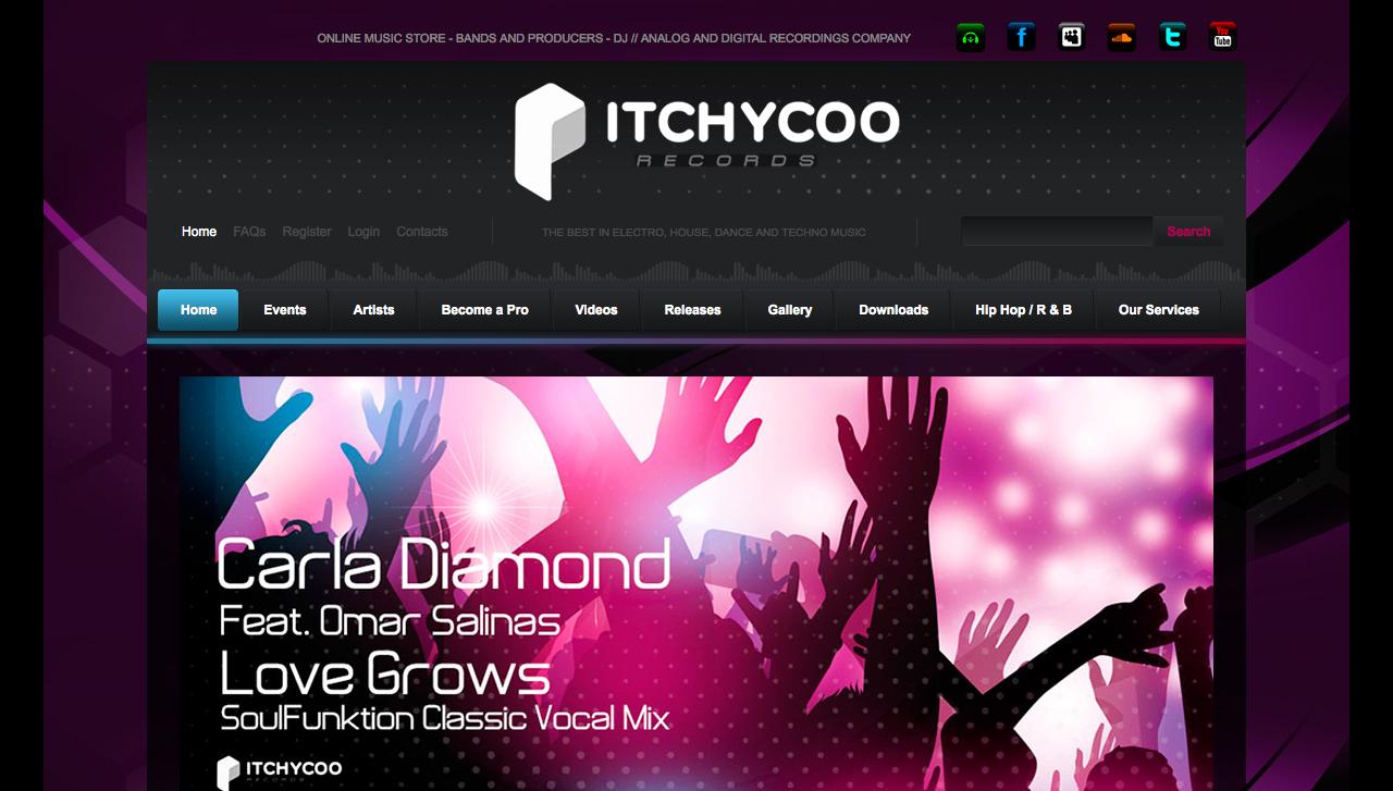 Itchycoo Records Discográfica inglesa con sedes en España y Japón www.directoriopax.com