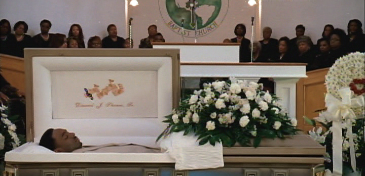 Left Eye In Casket In his casket in contrast