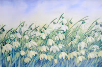 Snowdrops by Cher Bright