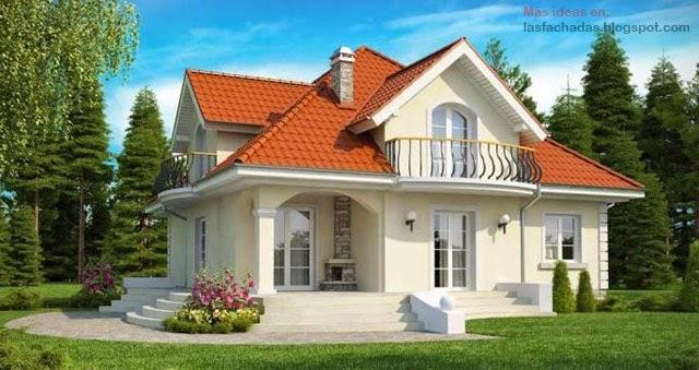 Fachadas de casas cl sicas fachadas de casas y casas por - Casas de campo por dentro ...