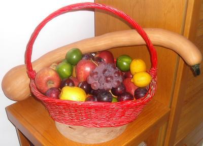 La matita autodidatta cesto di frutta for Cesto di frutta disegno
