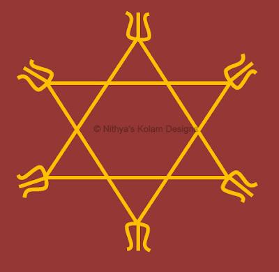 2 Navagraha Kolam | Guru Bhagavan | Thursday