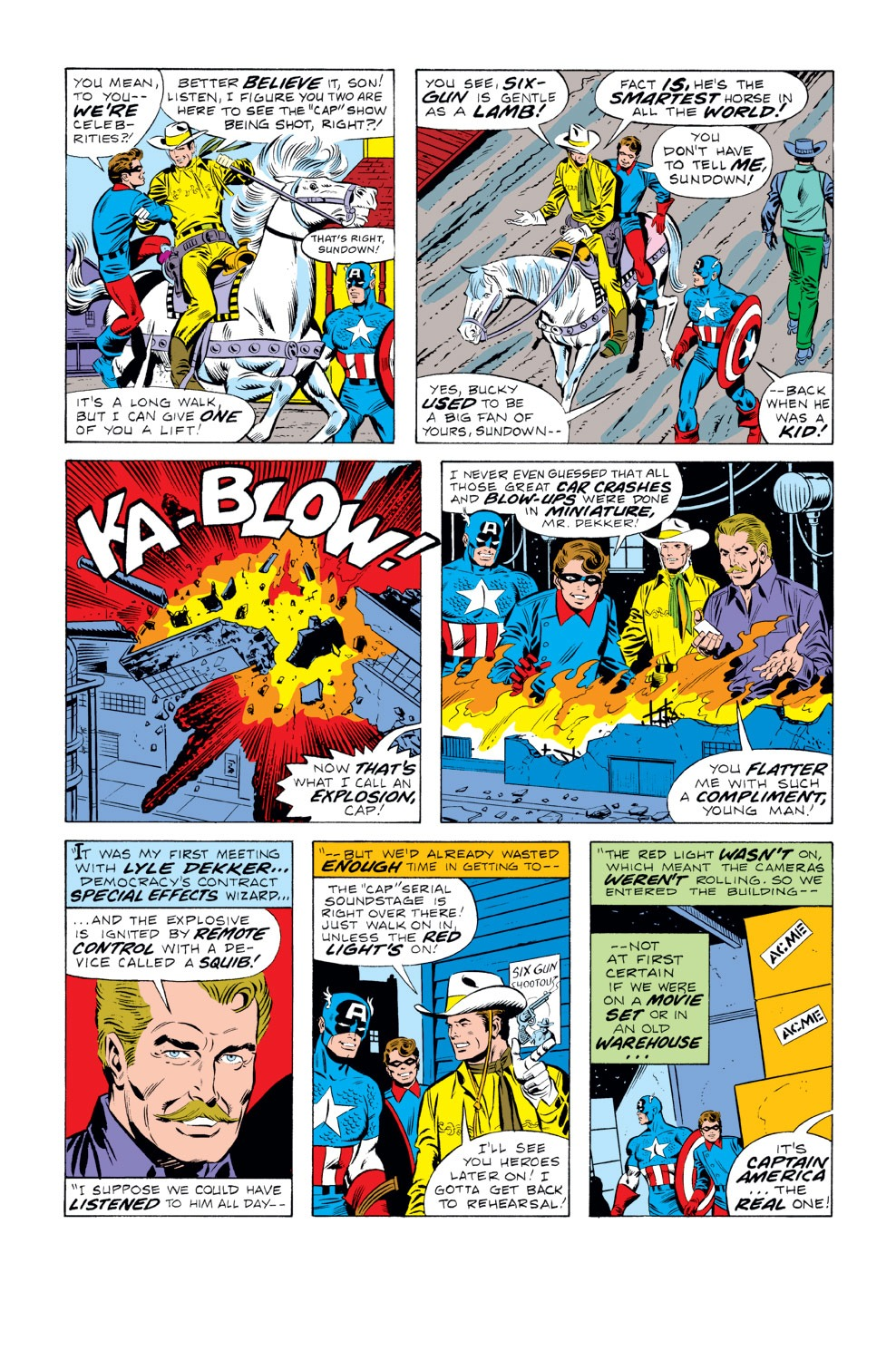 Captain America (1968) Issue #219 #133 - English 6