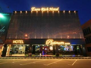 Hotel bintang 3 di Johor Bahru, Rp 400rb untuk 4 Orang