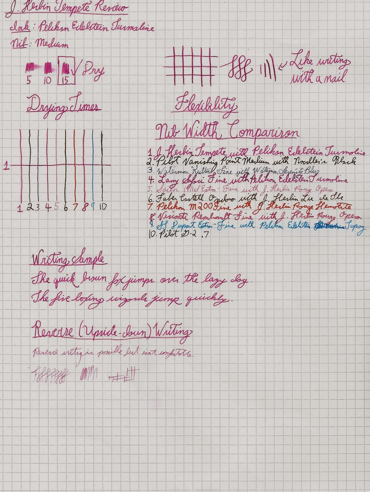 J. Herbin Tempête Writing Sample