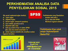PERKHIDMATAN ANALISA DATA SPSS 2017