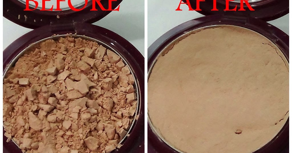 how to fix a broken makeup compact