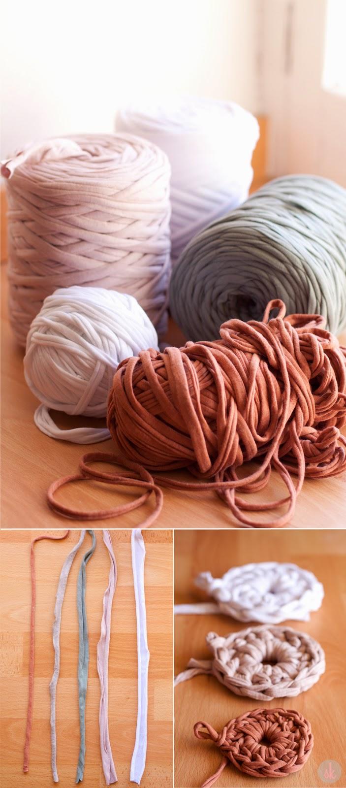 Sweet knit trucos y atajos para tejer con trapillo - Tejer con trapillo ...