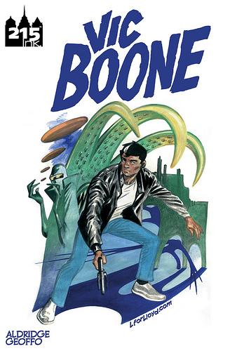 Critique Vic Boone et interview de Geoff  dans Bio 1