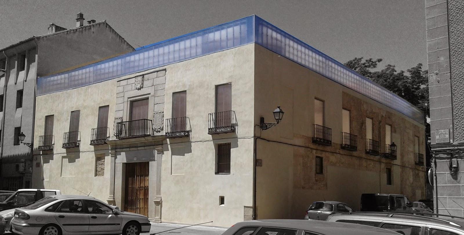 Palacio de enrique iv segovia arquitectura segovia sf23 arquitectos - Arquitectos en segovia ...