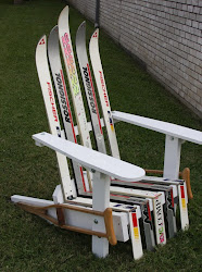 Ski Chair With Crutches