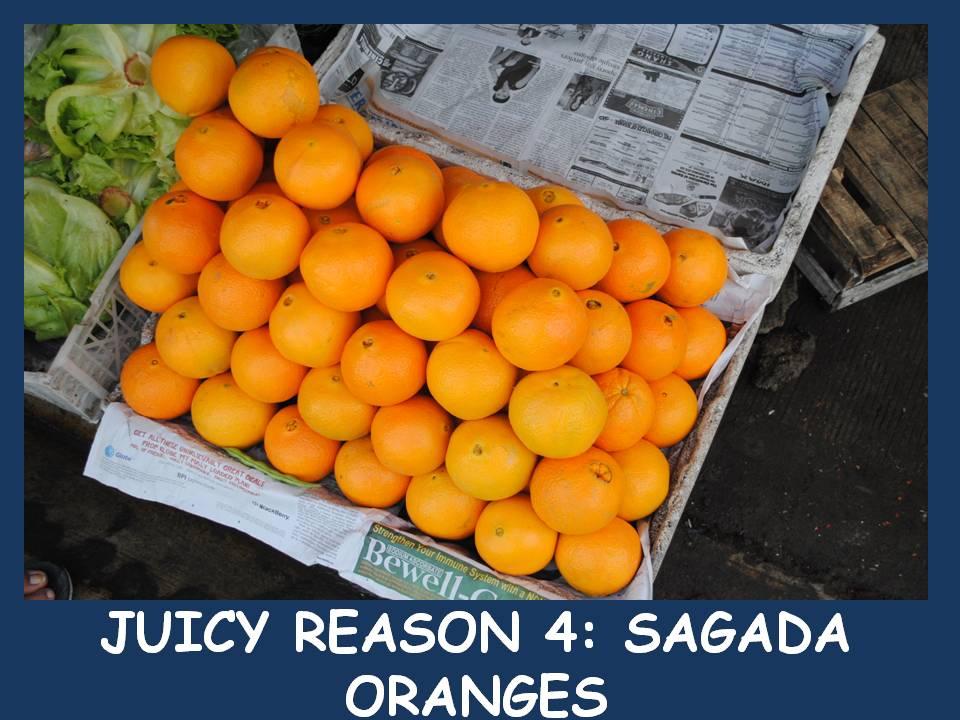 Sagada oranges