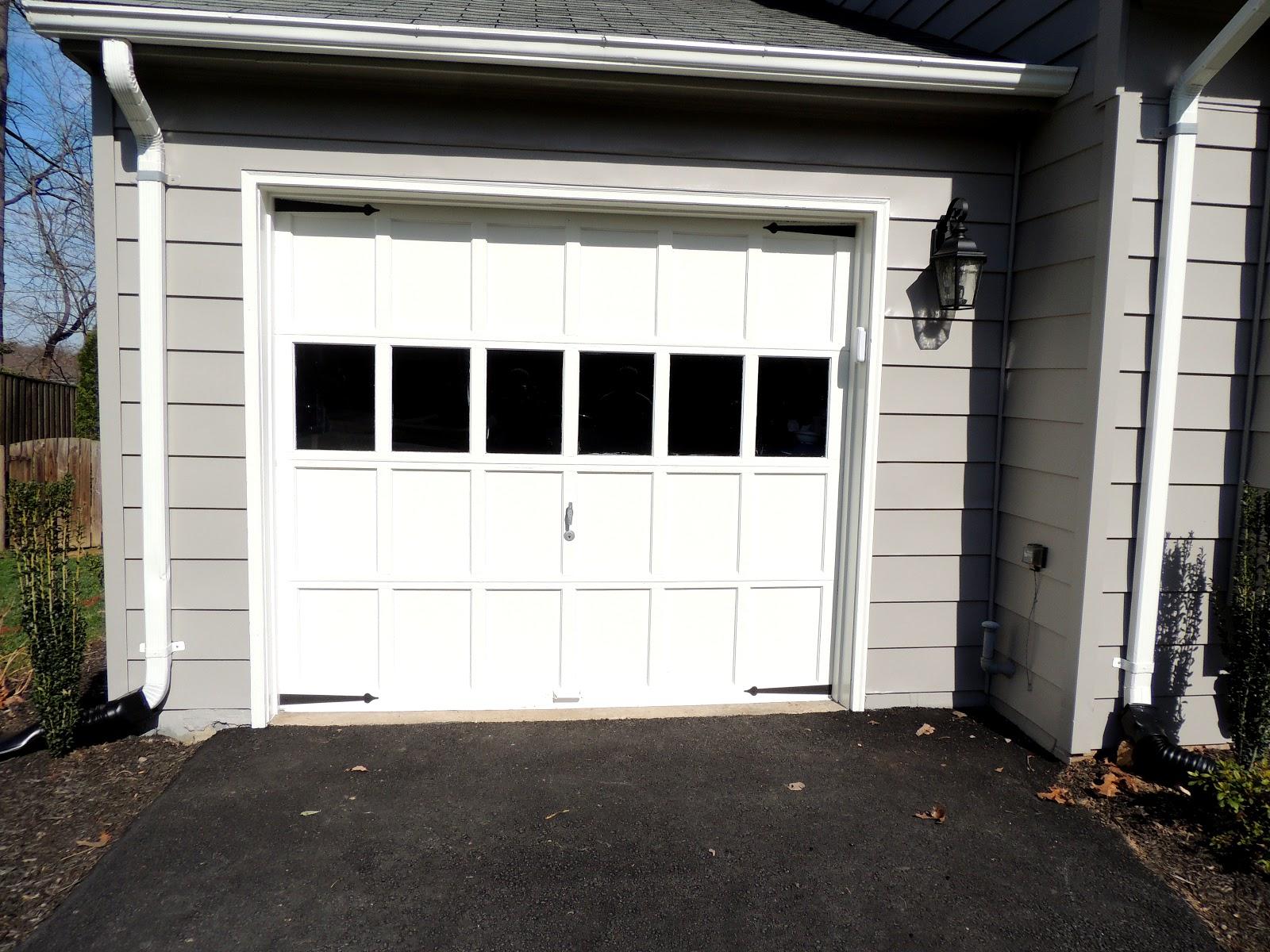 H family happenings get the carriage garage door look for Faux carriage garage door