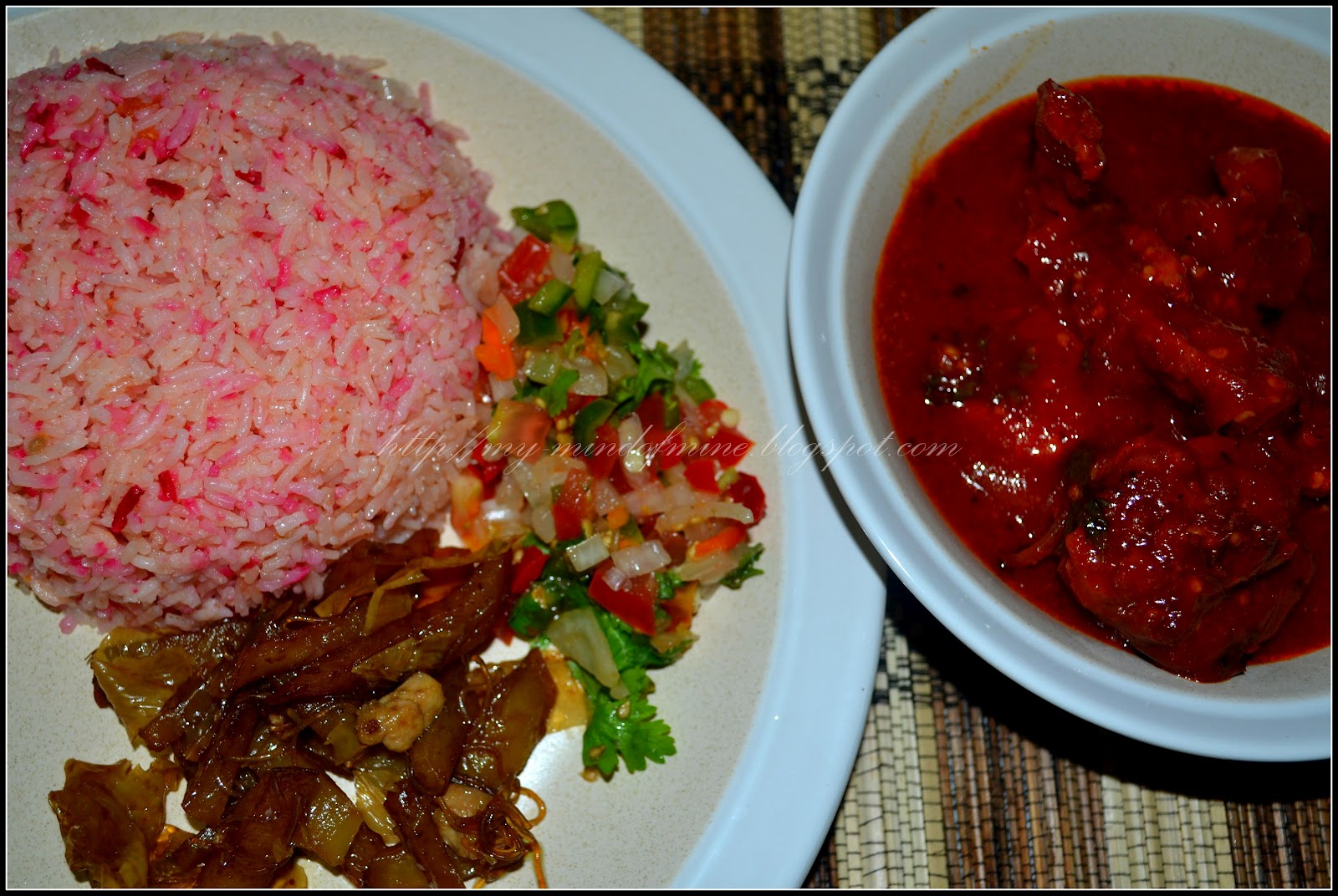 ~From Peru With Love~: Nasi oh Nasi...