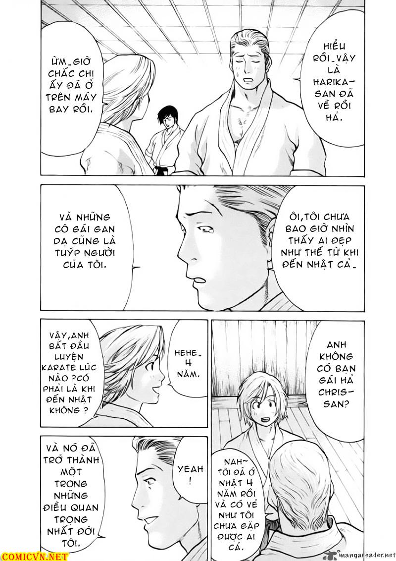Karate Shoukoushi Kohinata Minoru chap 50 Trang 11