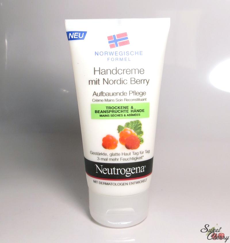 Kem dưỡng tay Neutrogena Handcreme mit Nordic Berry