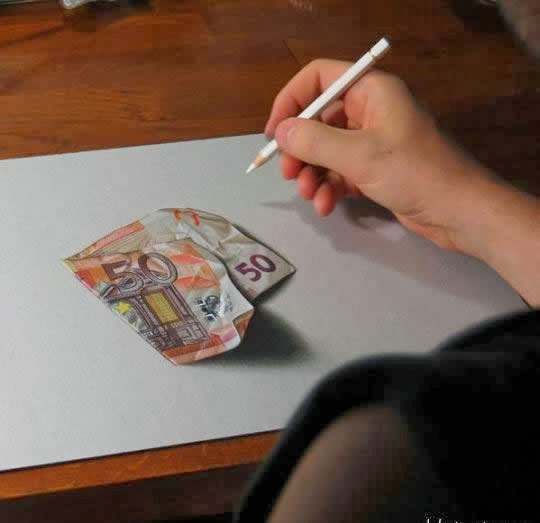 فنان إيطالي يبدع برسم لوحات awesome_3d_art_640_1