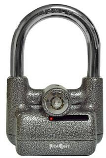 pad lock motorsikal dengan alarm