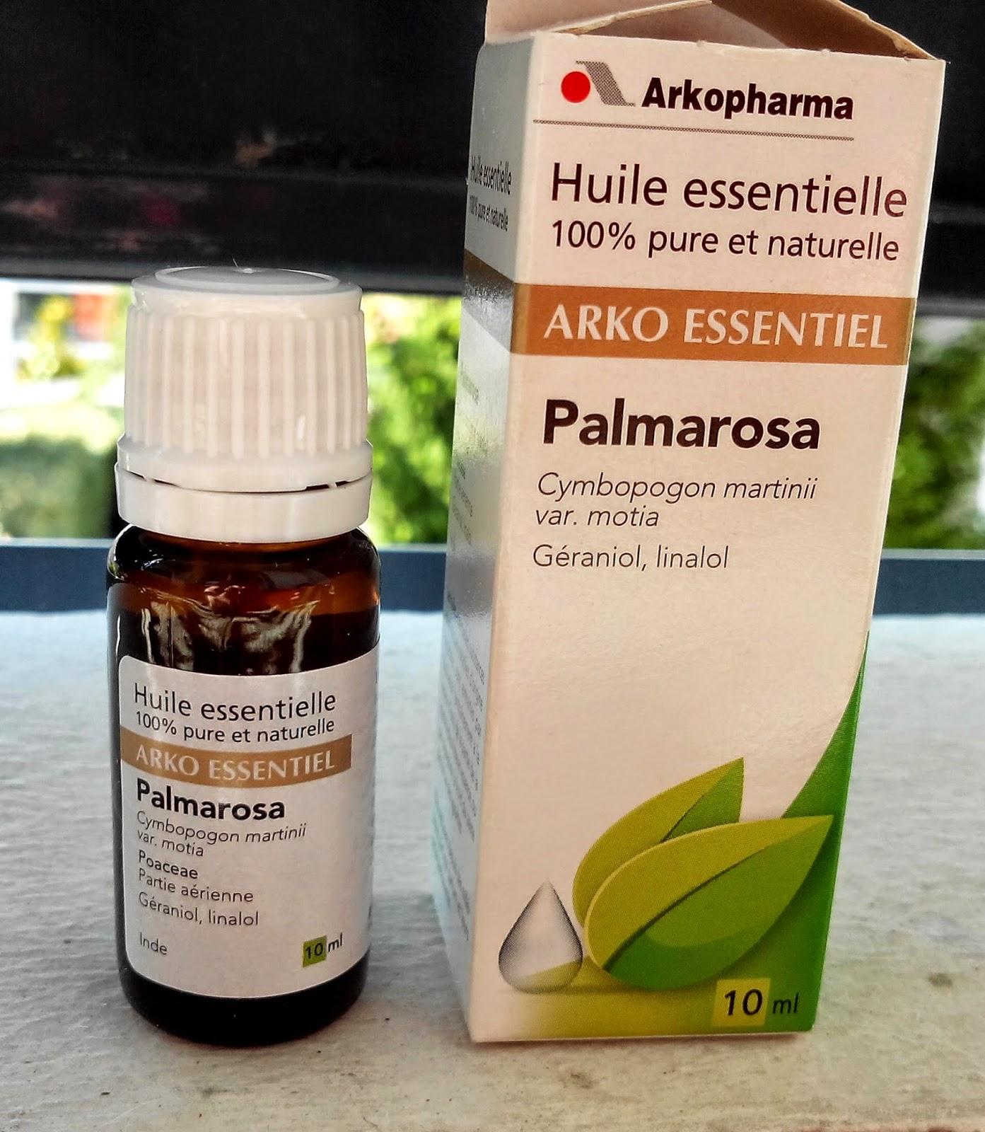 huile essentielle de Palmarosa des Laboratoires Arkopharma BullElodie