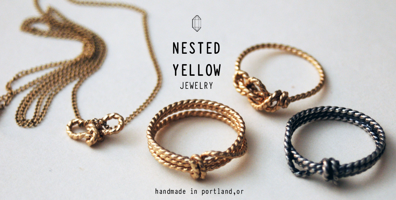 Nested Yellow jewelry