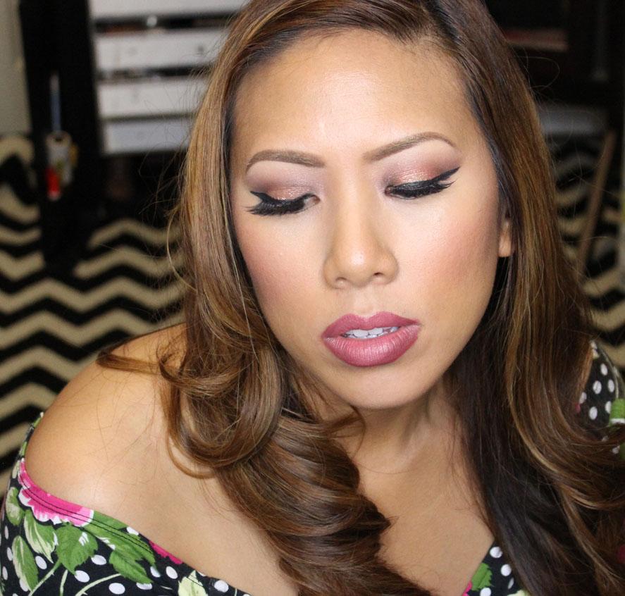 Creme Brulee Hair Color Lip Color in Creme Brulee