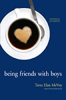 book cover of Being Friends With Boys by Terra Elan McVoy published by Simon Pulse