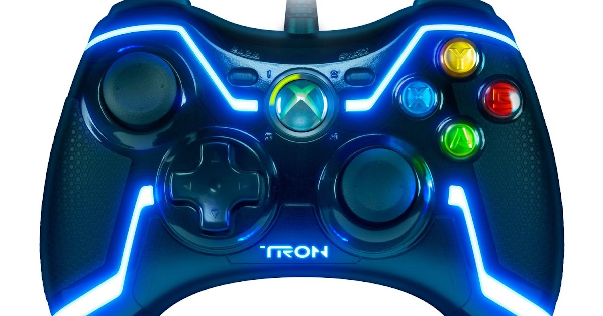 TRON Wired Controller For Xbox 360 Crazy Cool Gadgets