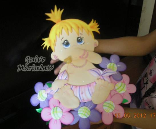 Manualidades en foami para bebés recien nacidos - Imagui