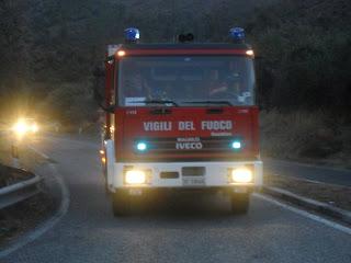 AutoPompa del Distaccamento VVF Popoli