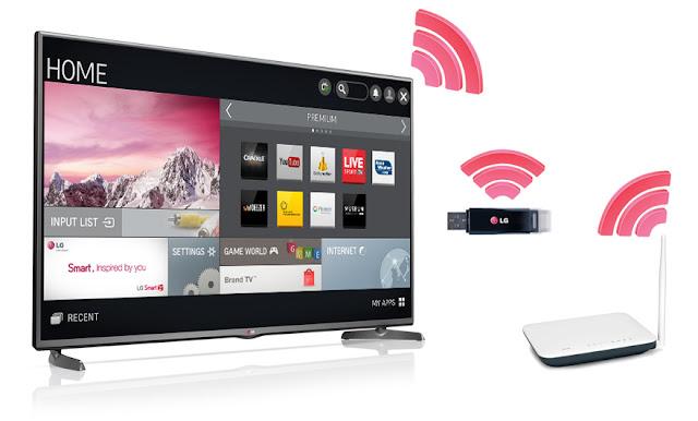 Hướng dẫn kết nối mạng wifi cho tivi LG