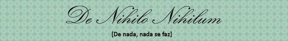 De Nihilo Nihilum