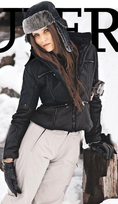 brave outfit esqui mujer la