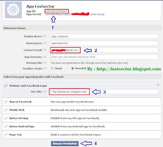 Facebook Recommendation Bar Versi HTML5 Get App ID