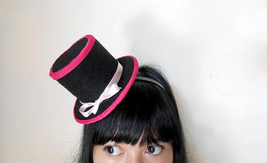 DIY Mini Top Hat Headband