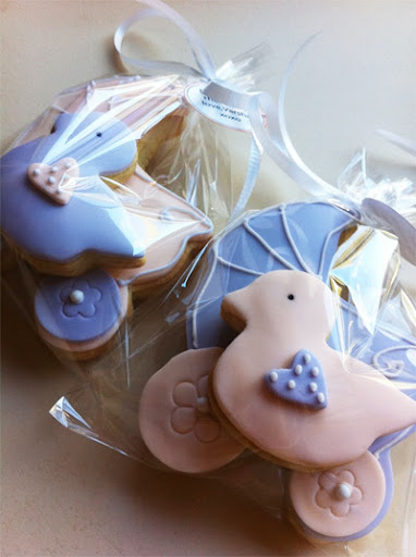 short and sweet baby shower cookies