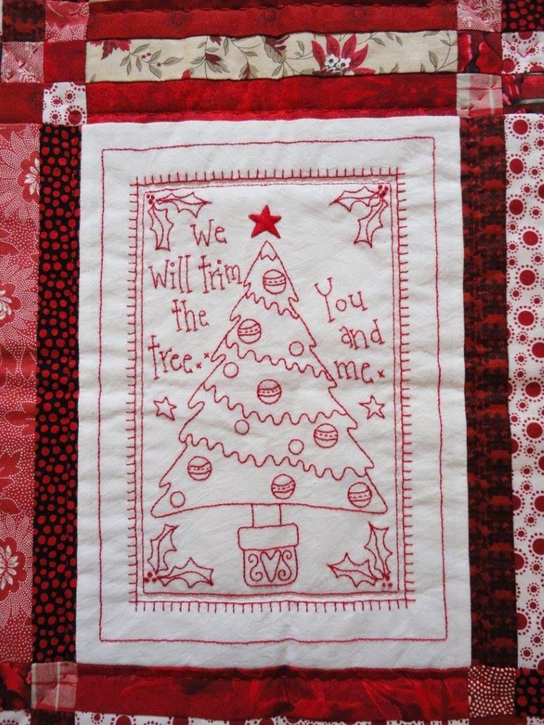 Redwork Quilt Patterns Christmas : Wendy s quilts and more: Bloggers Quilt Festival - my ...