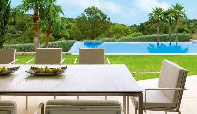 mobiliario jardim area: mesa para o terraço ou jardim ~ Decoração e Ideias – casa e jardim