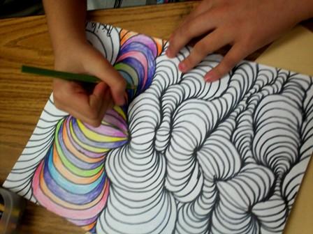 Art With Mr E Line Design W Shading 4th Grade