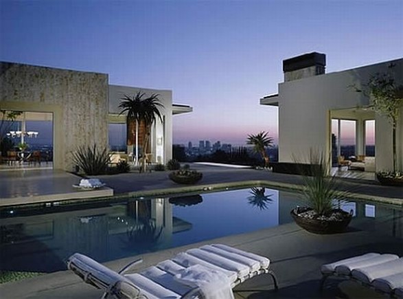 Beautiful Swimming Pools Around The World Elegant City Home Rooftop