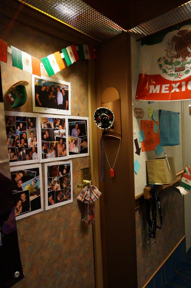 Nkotb Cruise Blog By Chelo Mx Door Decorations