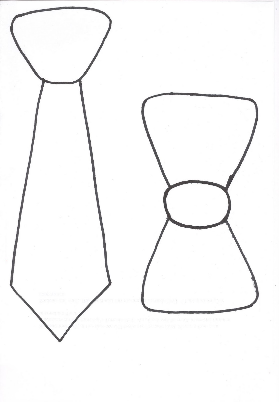 Transformative image intended for printable tie template