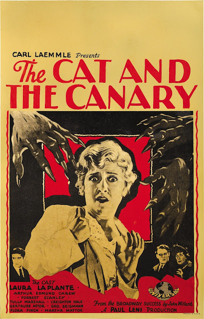 The Cat and the Canary 1927 poster