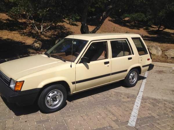 Daily Turismo: 3k: Ugly Burrito: 1984 Toyota Tercel Wagon